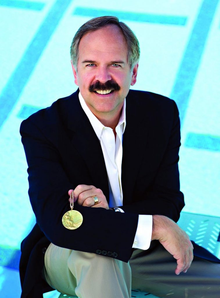 Olympic gold medalist and TV broadcaster John Naber will speak at 6:30 p.m. March 5 at the University of Nebraska at Kearney student union. The event is free and open to the public.