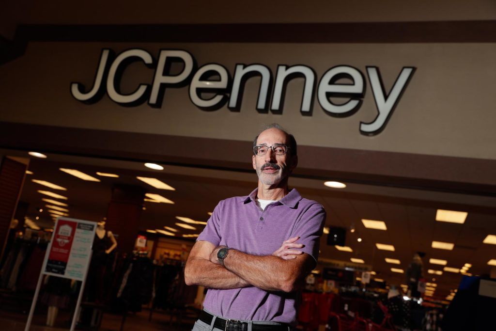 Greg Broekemier worked as retail manager for JCPenney from 1980-84 before joining Kearney State College as an instructor. (Photo by Corbey R. Dorsey, UNK Communications)
