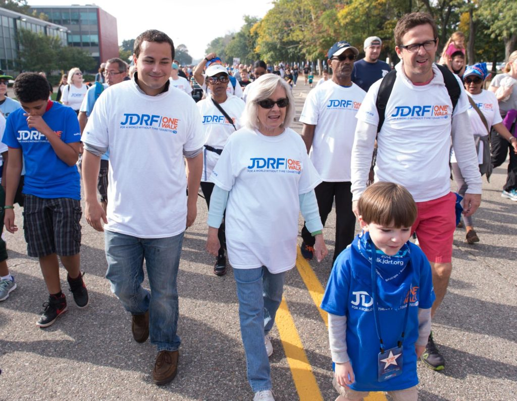 UNK's chapter of the College Diabetes Network is hosting a JDRF Community One Walk April 14 at Yanney Park. The event supports Type 1 diabetes research. It is free and open to the public. (Photo courtesy Lincoln and Greater Nebraska JDRF)