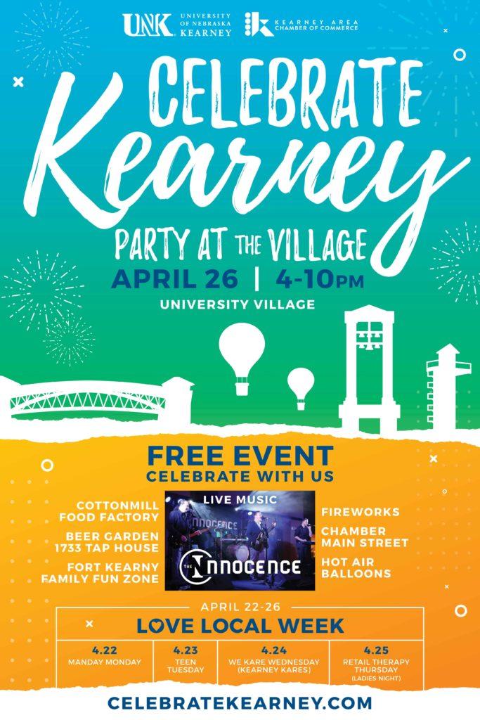 Celebrate Kearney Poster