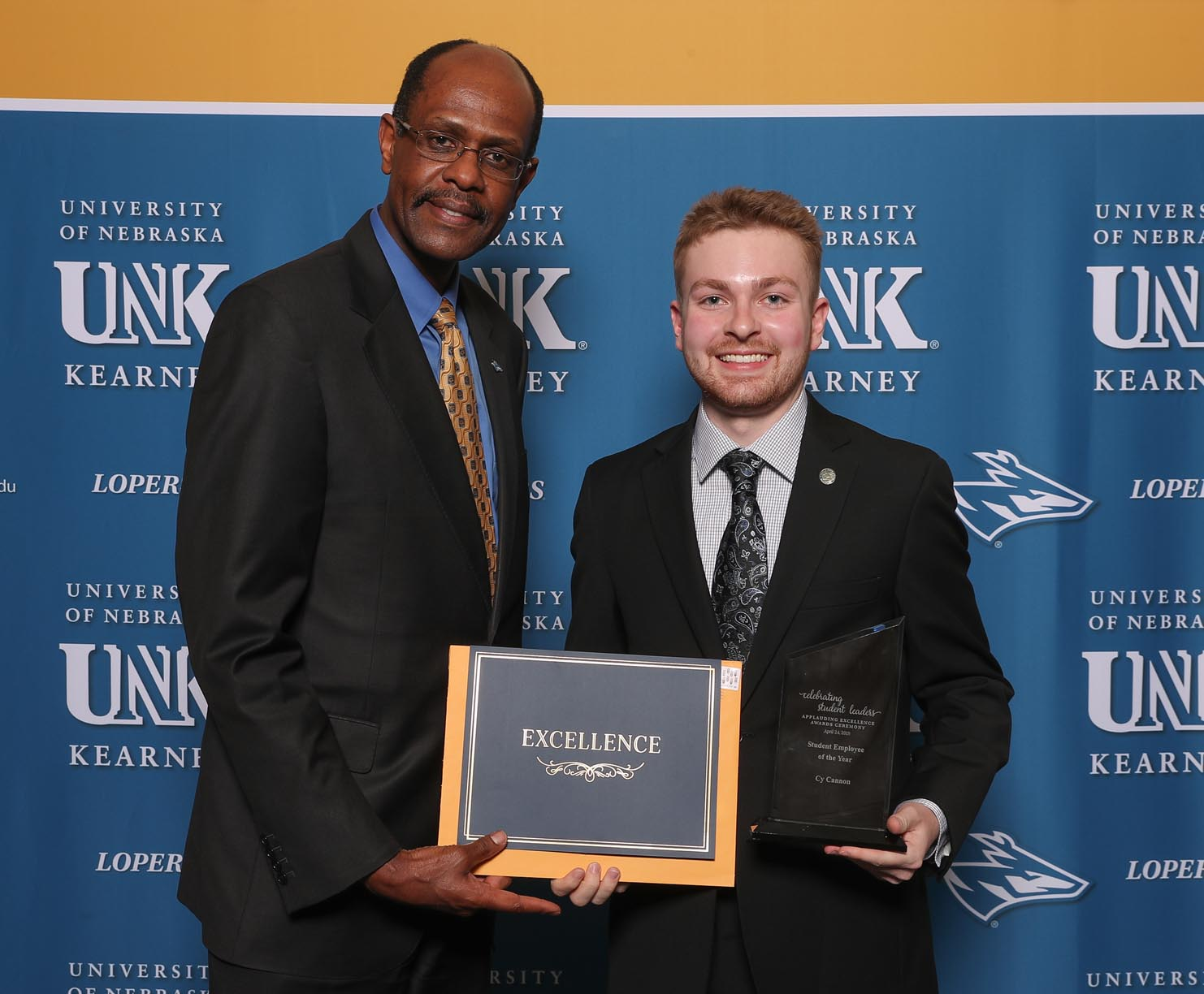 Student Employee of the Year - Cy Cannon