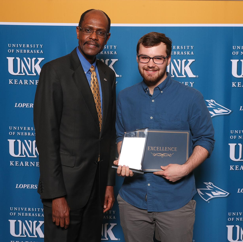 Unsung Hero Award - Nickolas Schultz
