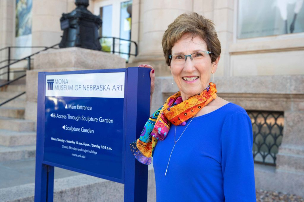 Marilyn Hadley of Kearney has accepted an appointment as interim director of the Museum of Nebraska Art.