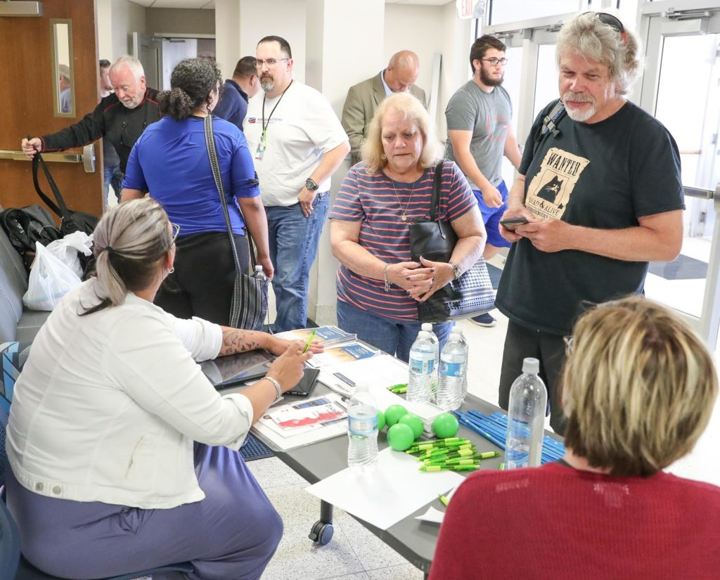 More than 250 people impacted by Tuesday's flooding are staying in UNK residence halls, which were opened free of charge to provide assistance for area residents and travelers. (Photo by Corbey R. Dorsey, UNK Communications)