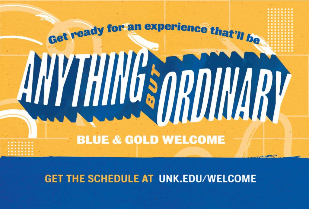Blue Gold Welcome Week
