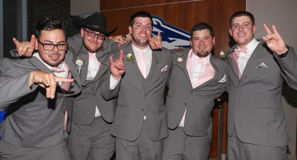 Streit Wedding Groomsmen