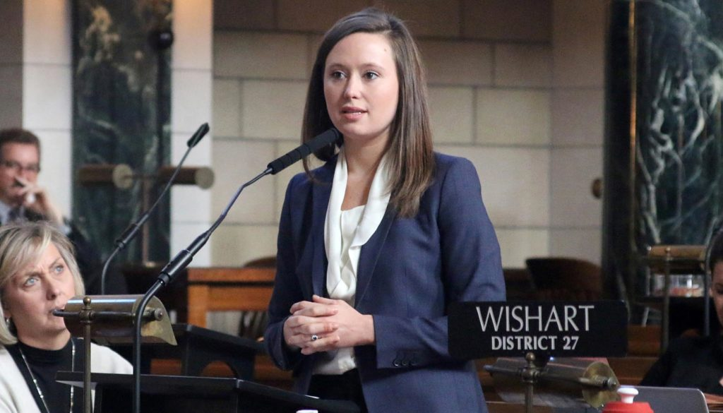 "Sen. Anna Wishart will present ""Legalizing Medicinal Marijuana in Nebraska: Policy and Political Implications"" on Thursday (Sept. 5) in UNK's Fine Arts Recital Hall."