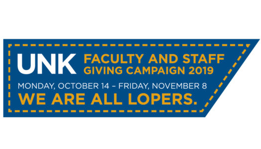UNK Faculty Staff Giving Logo