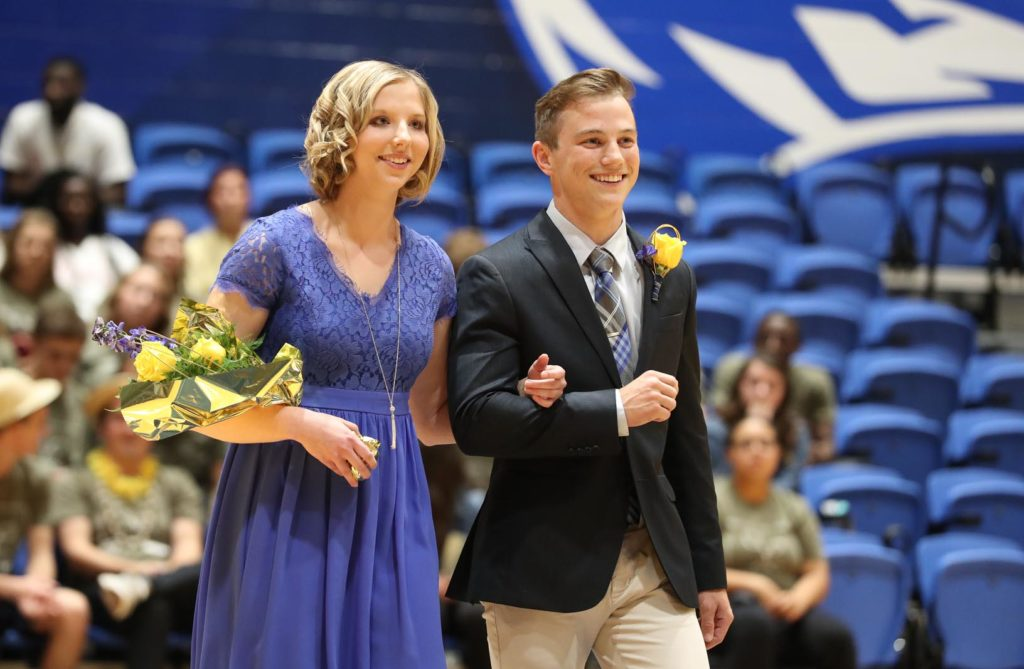 Haley Pierce of West Point and Gabe Crocker of Kearney.