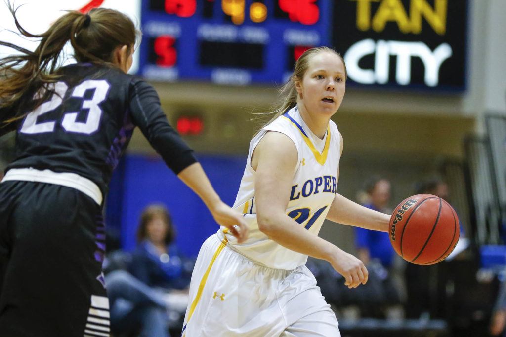 Allie Prososki played one season for the UNK women's basketball team before switching to soccer. At Kearney Catholic High School, she set the career record for 3-pointers made and helped lead the Stars to three straight state tournaments, including a pair of state runner-up finishes.