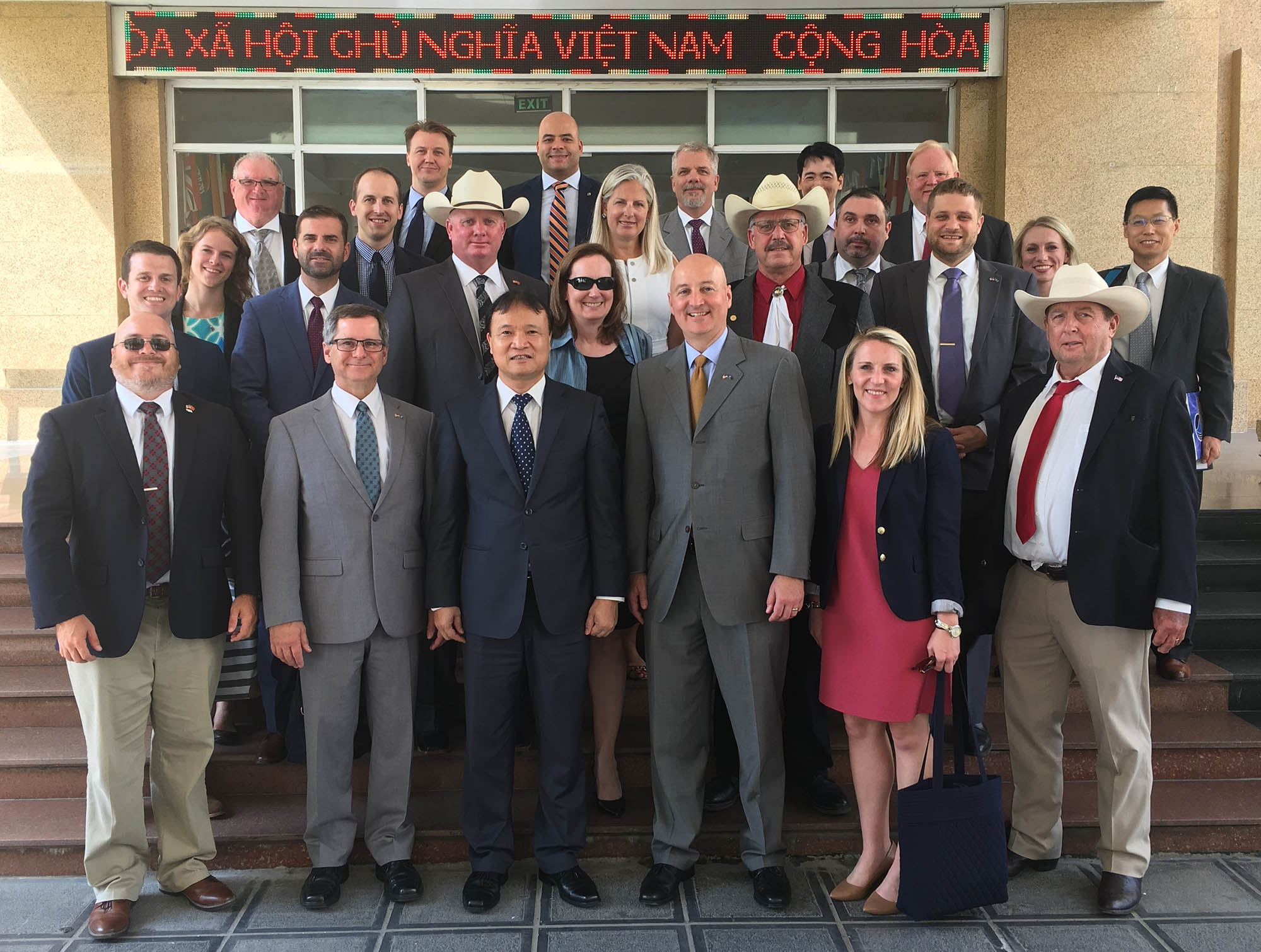 Gov. Pete Ricketts led a trade mission last month to Vietnam and Japan to promote Nebraska's agricultural products and pitch the state as a top destination for international investment. He'll talk about the trip 3:30 p.m. Nov. 5 in UNK's Copeland Hall Room 142 as part of Geography Awareness Week. (Courtesy photo)