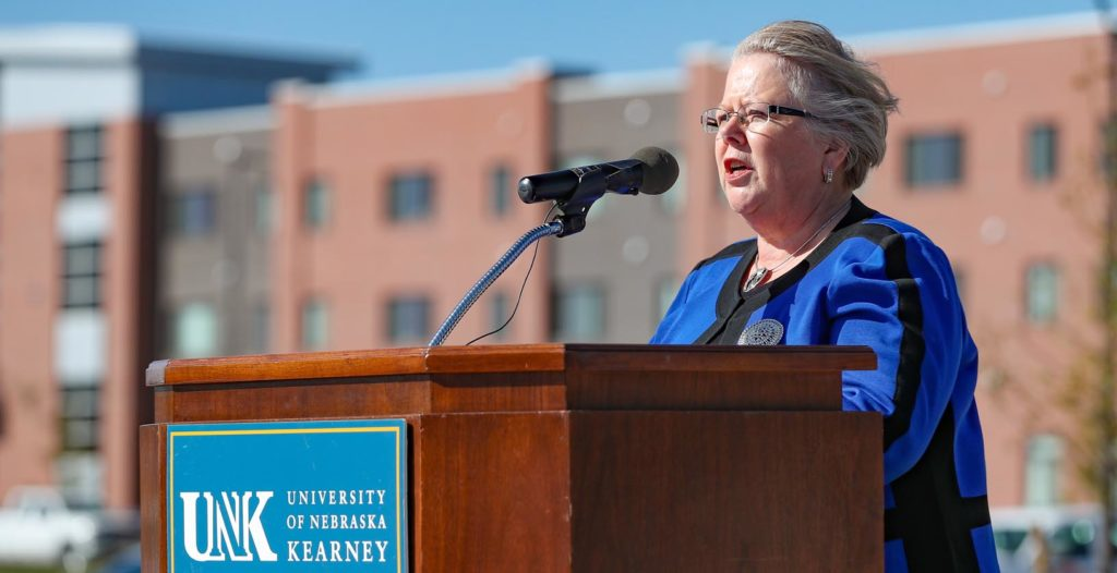 """The Plambeck Center is another example of what we as a university system, and UNK specifically, are doing to help Nebraska thrive,"" said University of Nebraska Interim President Susan Fritz. ""It is providing incredible opportunities to build on our momentum."""