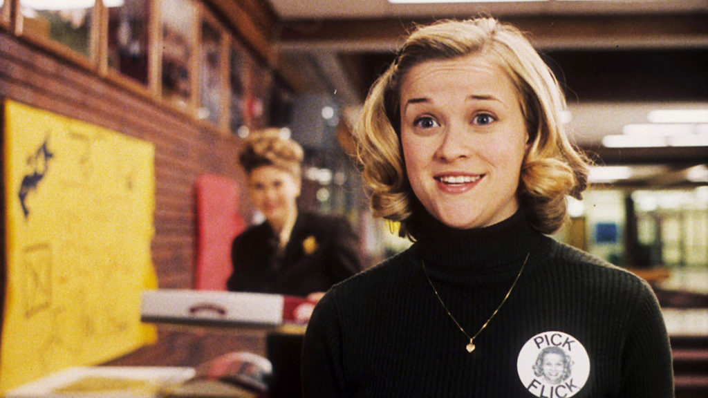 """Reese Witherspoon stars as high school overachiever Tracy Flick in the 1999 film """"Election."""" (Paramount Pictures)"""