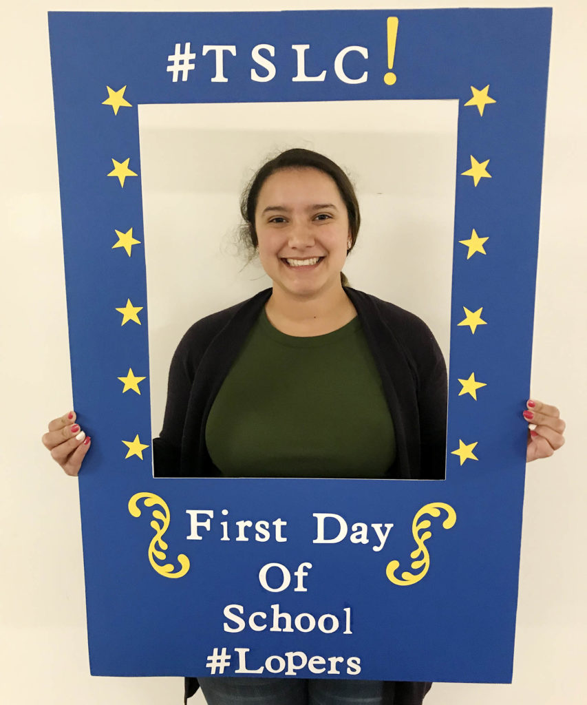 "As a member of the Thompson Scholars Learning Community, Emely Diaz learned skills that set her up for success and she was paired with student mentors who eased the transition to college. ""I sometimes wonder what would have happened if I wasn't a Thompson Scholar, and I honestly feel like I wouldn't be where I am,"" the UNK senior said. ""They have done so much for me, and I'm very grateful for that scholarship, the learning community and the staff members."""