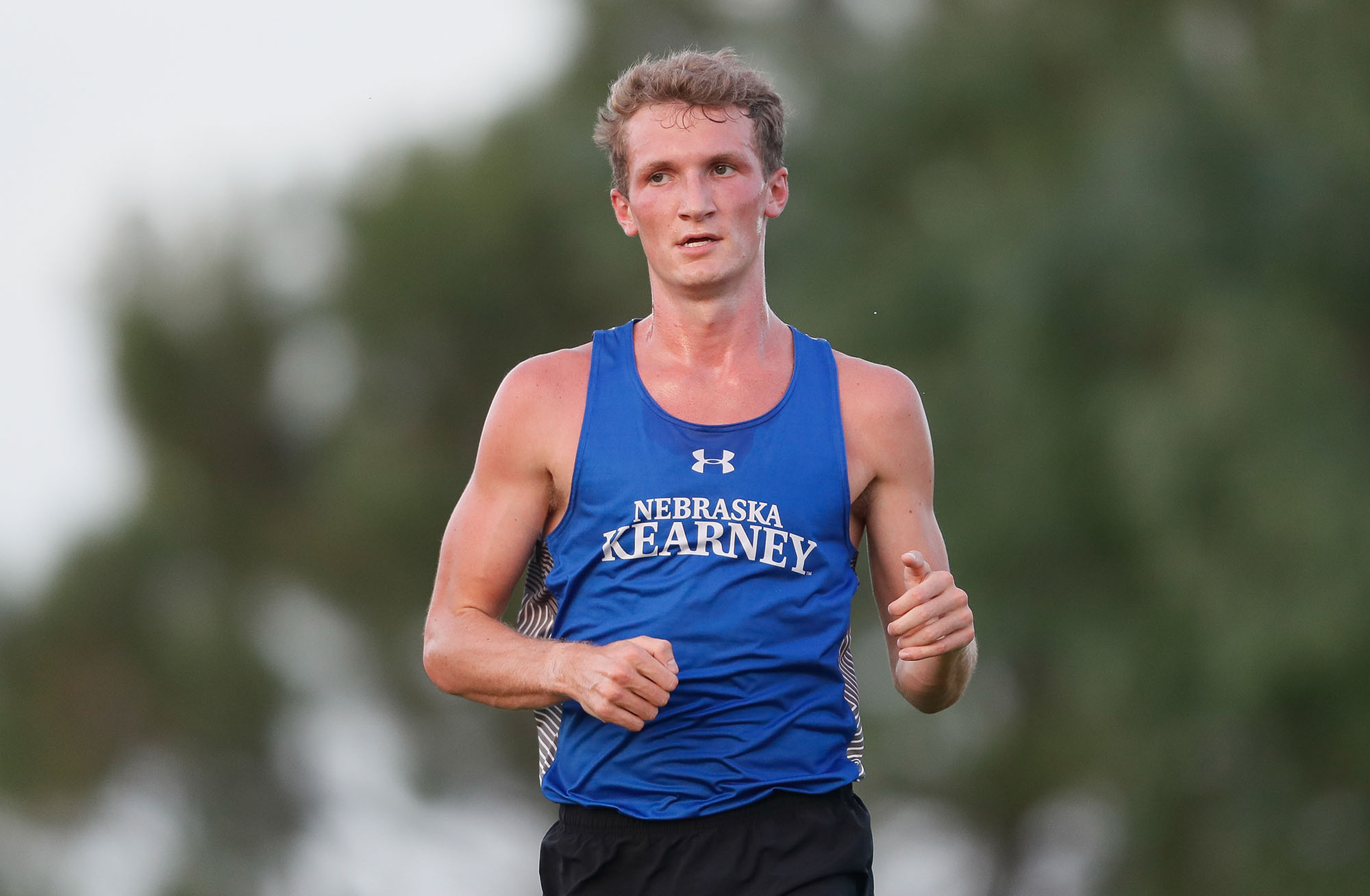 Corbin Hansen, a senior from Deweese, is one of just nine UNK men's cross country runners to earn NCAA Division II All-American honors. He can become a two-time All-American during the Division II Championships scheduled for Nov. 23 in Sacramento, California.