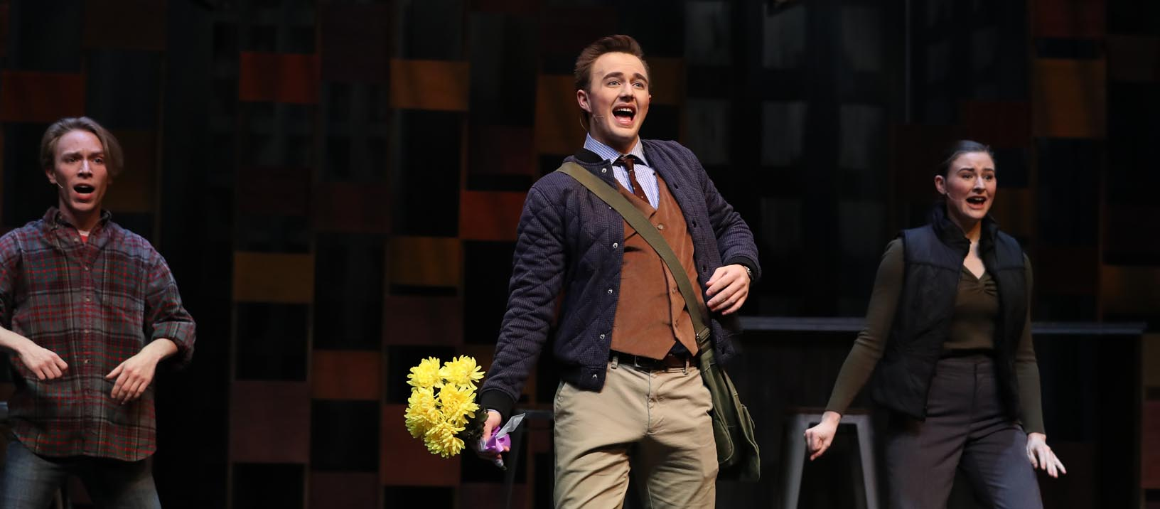 """University Theatre at Kearney will present """"I Love You Because"""" Wednesday through Sunday at UNK's Miriam Drake Theatre. (Photos by Corbey R. Dorsey, UNK Communications)"""