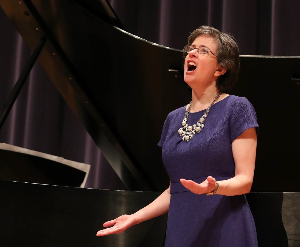Dawn Mollenkopf will perform songs in four languages – English, Latin, French and German – from composers Henry Purcell, Georges Bizet, Johannes Brahms and Cole Porter during Sunday's recital.