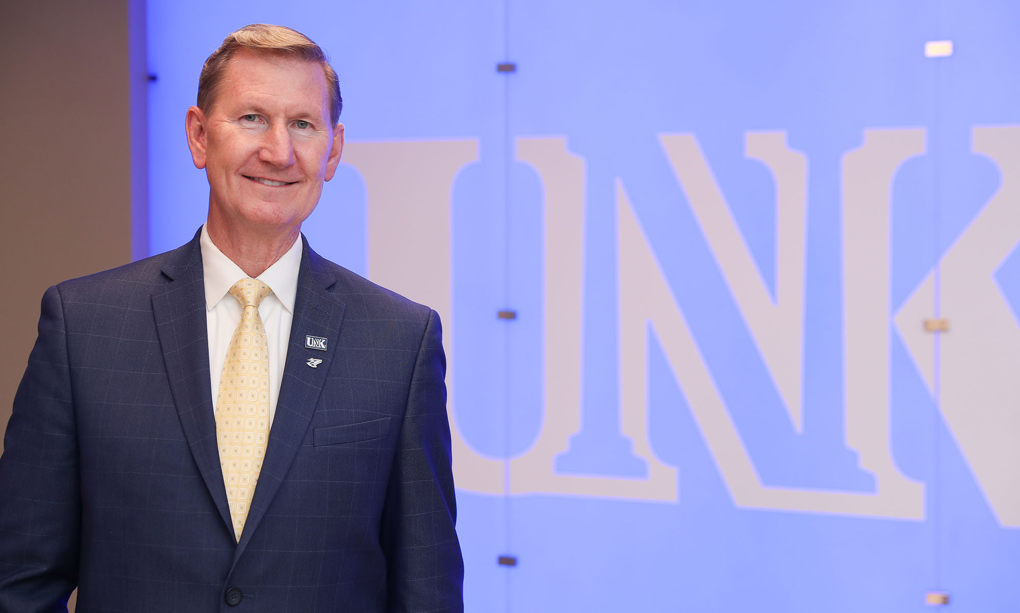 Ted Carter will serve as the University of Nebraska's eighth president. (Photo by Corbey R. Dorsey, UNK Communications)