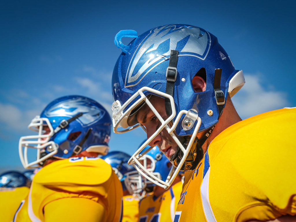 Alex McGinnis and 24 other Lopers will play the final game of their UNK careers Saturday at the Mineral Water Bowl. (UNK Communications)