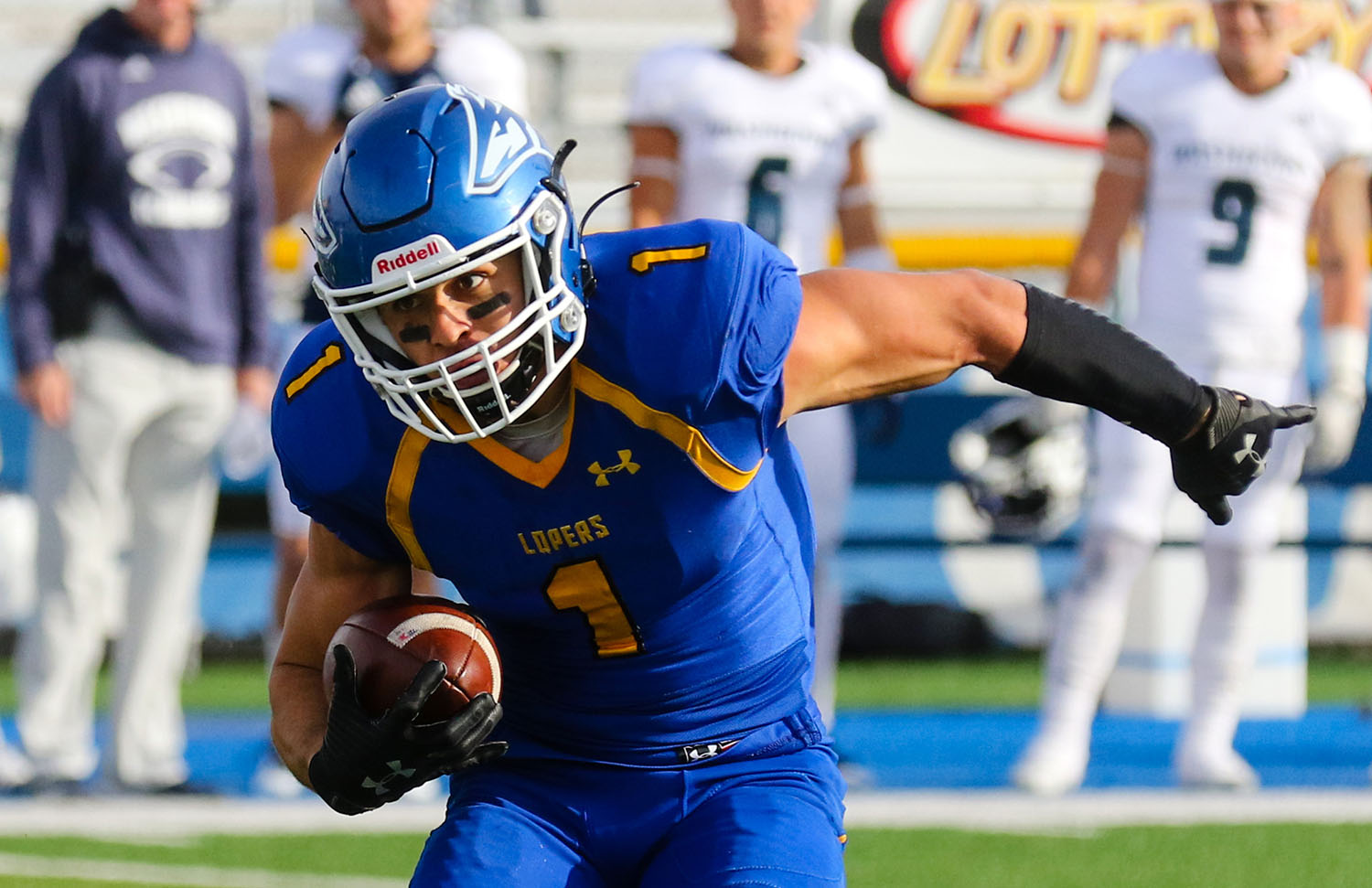 Luke Quinn, a sixth-year senior from Scottsdale, Arizona, enters Saturday's Mineral Water Bowl with 2,313 all-purpose yards and 20 touchdowns during his UNK career. (UNK Communications)