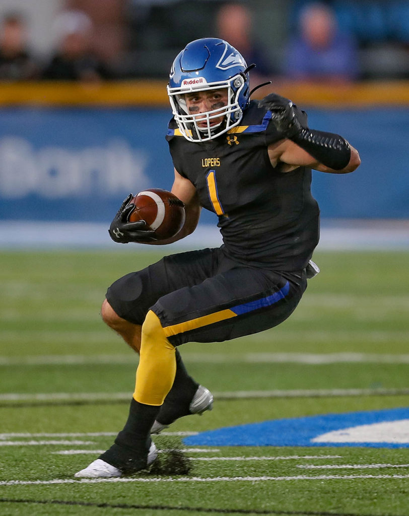 """""""This is by far the most talented team the Lopers have had since I've been here,"""" sixth-year senior Luke Quinn said. """"I knew it was going to be something special this year. I knew what we were capable of."""" (UNK Communications)"""