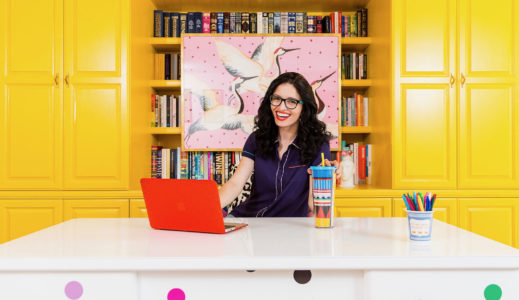 Colorful career: UNK grad finds happiness as designer, social media personality