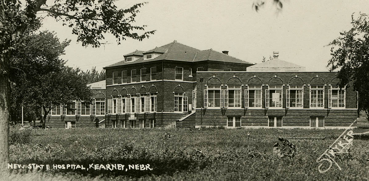 The Nebraska State Hospital for Tuberculosis operated from 1912 to 1972 in buildings that are now part of UNK's west campus. This building currently houses UNK Communications and Marketing and eCampus. (Courtesy photo)