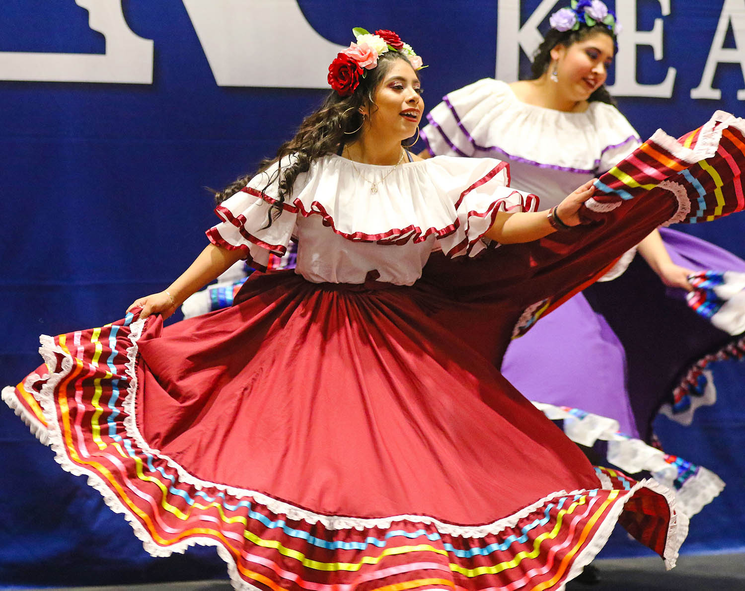 In addition to delicious dishes, the annual Scott D. Morris International Food and Cultural Festival features performances from numerous UNK students.