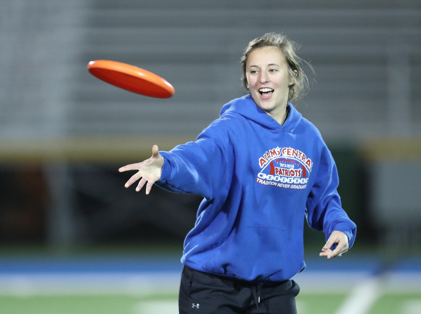 UNK Campus Recreation offers a number of nontraditional intramural sports and activities, including ultimate Frisbee, human foosball, esports, table tennis, cornhole and Spikeball.