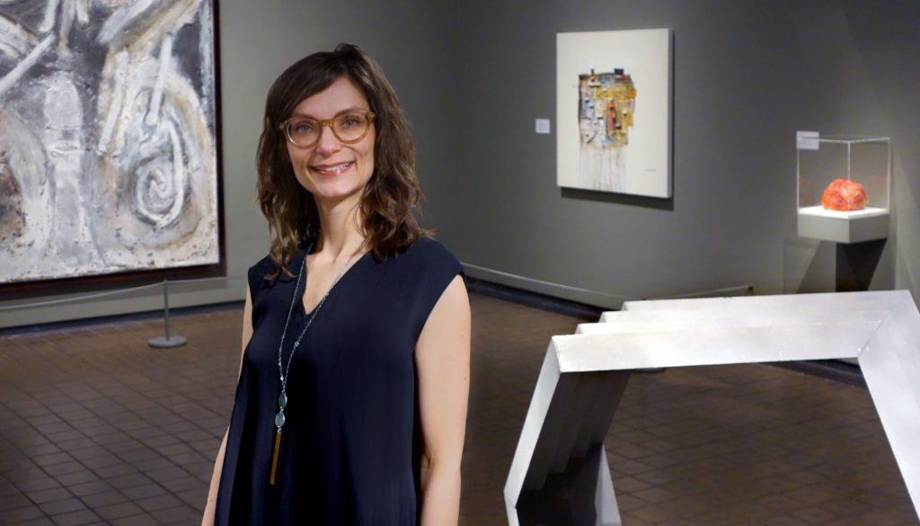 """Nicole Herden of Boise, Idaho, is the new executive director of Museum of Nebraska Art. """"I'm excited about the museum's relationship with UNK and all of the perspectives university faculty, students and staff can bring to MONA,"""" said Herden."""