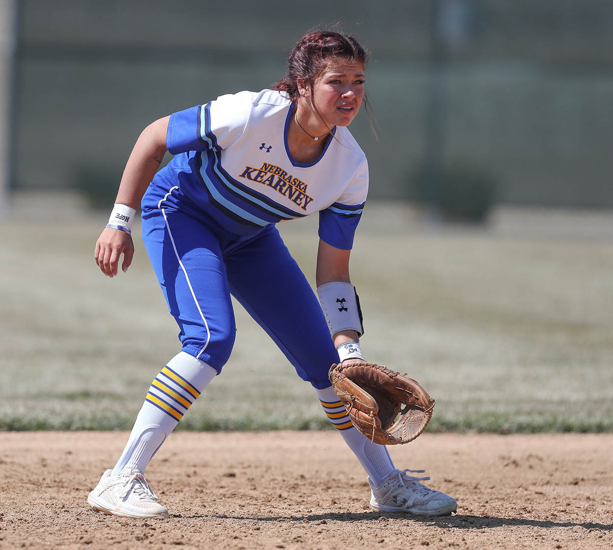 """Kearney High School graduate Kaitie Johnson calls her decision to attend UNK and play softball for the Lopers a """"no-brainer."""" """"I've always loved playing for Kearney,"""" the 21-year-old said. """"It's a different type of atmosphere when you're from here, everyone knows you and they want you to succeed."""""""