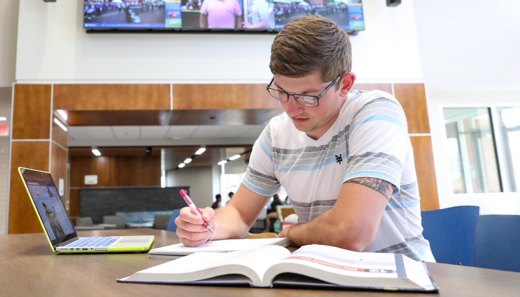 A new program called O.N.E. Loper allows freshmen and first-time students at UNK to take their entire first year of general studies courses online and remotely.