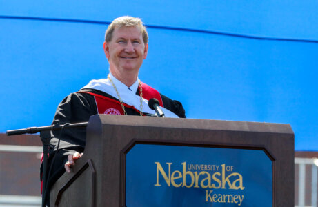 Virtual installation celebrates University of Nebraska, President Ted Carter
