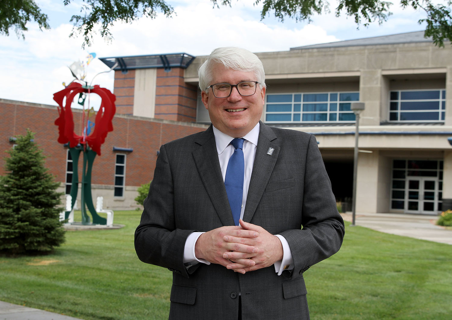 Mark Reid became UNK's new College of Education dean on July 1. He spent the previous 14 years at Texas A&M University-Commerce, serving as associate dean of the College of Education and Human Services since 2015.