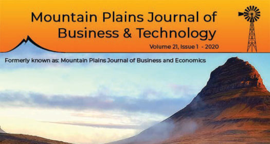 UNK releases inaugural issue of Mountain Plains Journal of Business and Technology