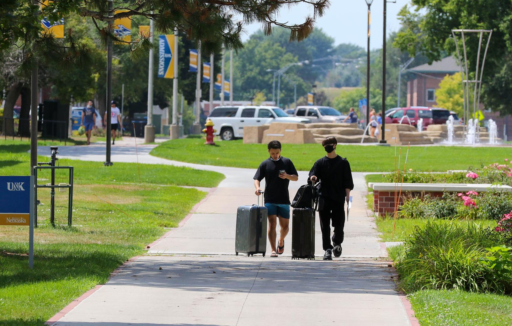 More than 1,400 students are expected to live in UNK residence halls this semester. Most of them will move in this week.