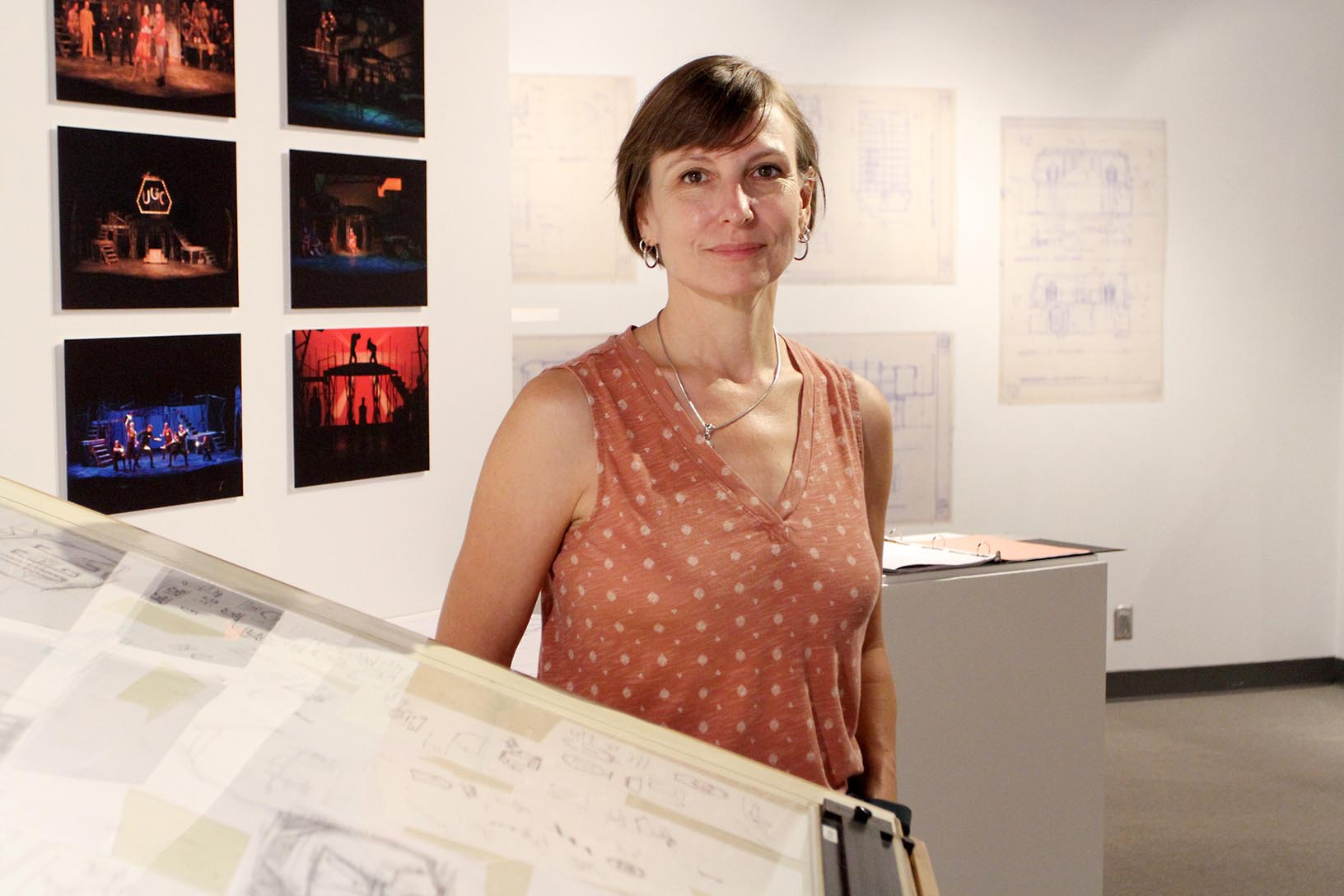 An assistant professor in the interior and product design program, Ahna Packard spent 20 years working as a professional set designer in Hollywood and other locations across the country before joining UNK in 2018.