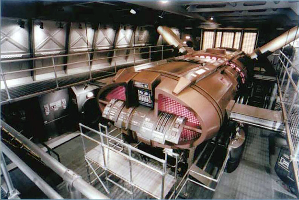 """Ahna Packard helped design the engine room for the NX-01 starship featured on """"Star Trek: Enterprise."""" (Paramount)"""