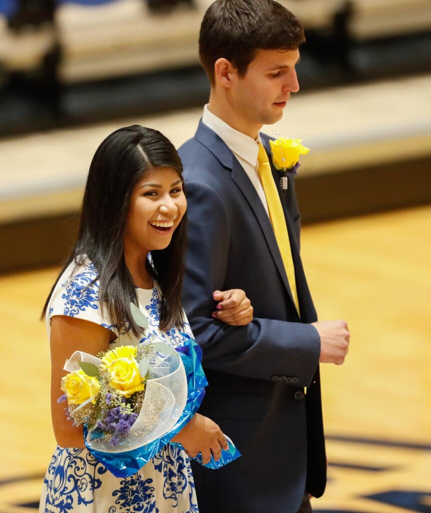 Odalys Cruz was a UNK homecoming royalty finalist in 2017.