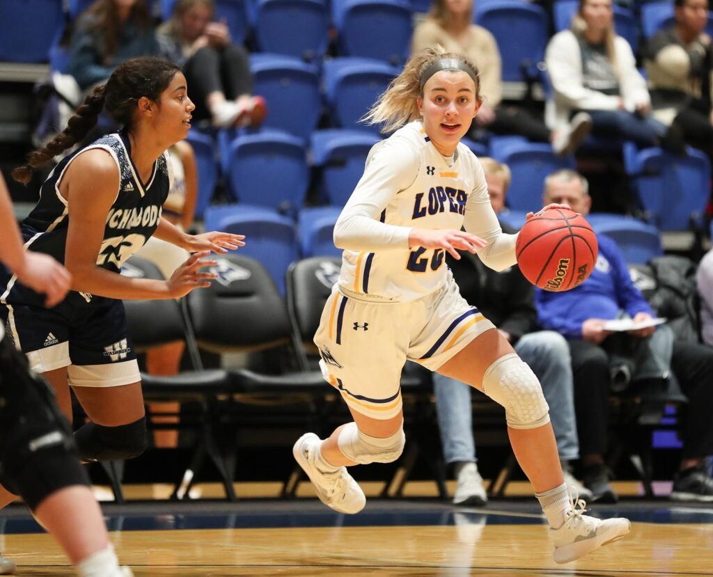 Klaire Kirsch started all 32 games for the Lopers last season and was an honorable mention all-conference selection in the Mid-America Intercollegiate Athletics Association. (UNK Communications)