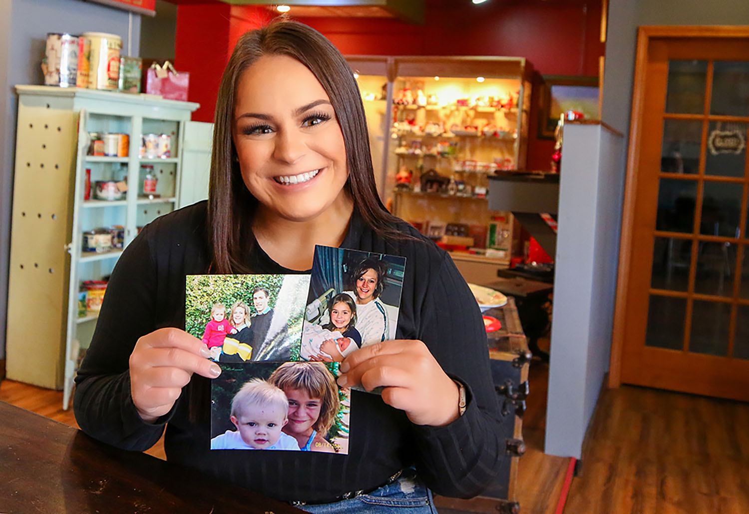 """The photos she keeps on her nightstand remind Fayth Jackson of the family members she's lost. """"I don't remember every place or event, but the ones I do remember, time stops for a little bit and I flash back to that very moment with them."""""""