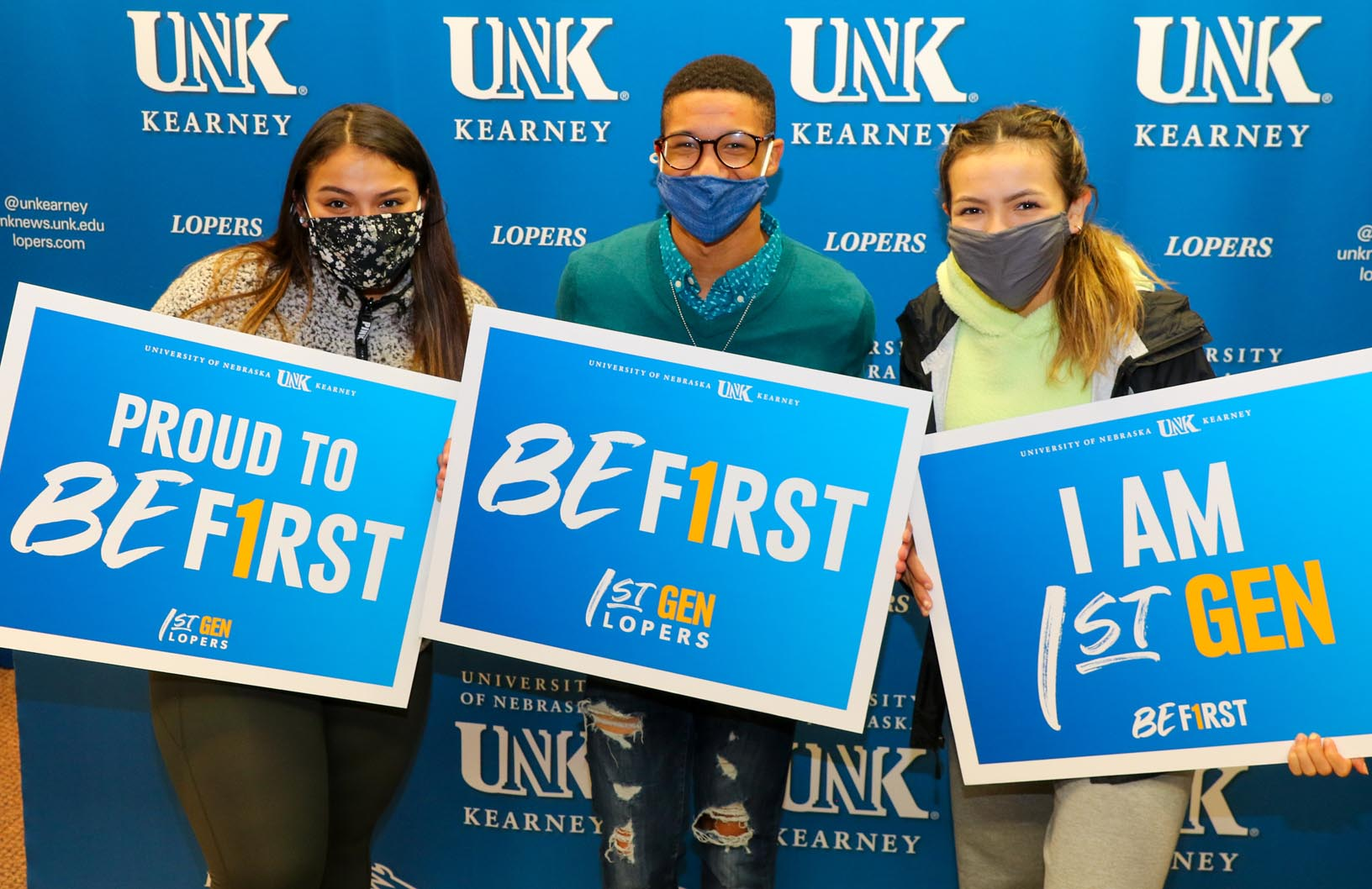 UNK hosted its second annual First Gen Day on Monday. The event celebrates the success of first-generation faculty, staff and students and highlights the opportunities available at UNK. (Photos by Todd Gottula, UNK Communications)