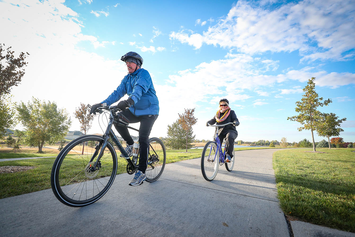 Residents of the Tri-Cities area enjoy a high quality of life, according to the Nebraska Thriving Index, which noted the region's abundance of trails and parks.