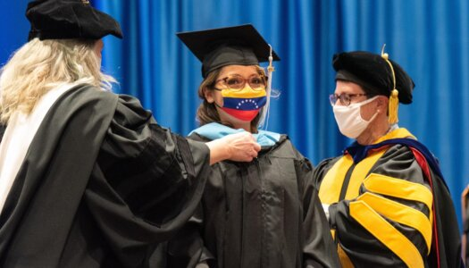 Winter Graduate Commencement 11