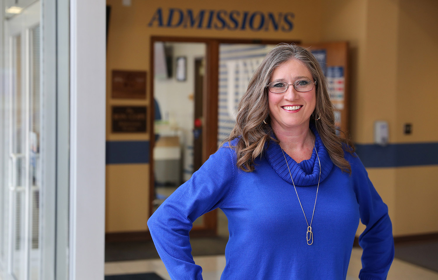 Jodi Holt was selected in December as the new admissions director at UNK. She'll start the position Feb. 15. (Photo by Erika Pritchard, UNK Communications)