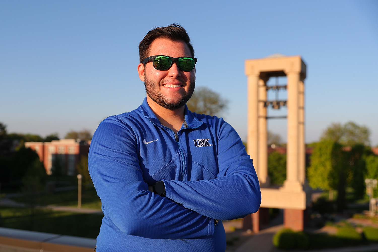 Adrian Almeida and his mother Yosdayly Hernandez emigrated from Cuba to the United States in search of a better future. Almeida found that future at UNK, where he's studying business administration with a marketing emphasis and a minor in criminal justice.