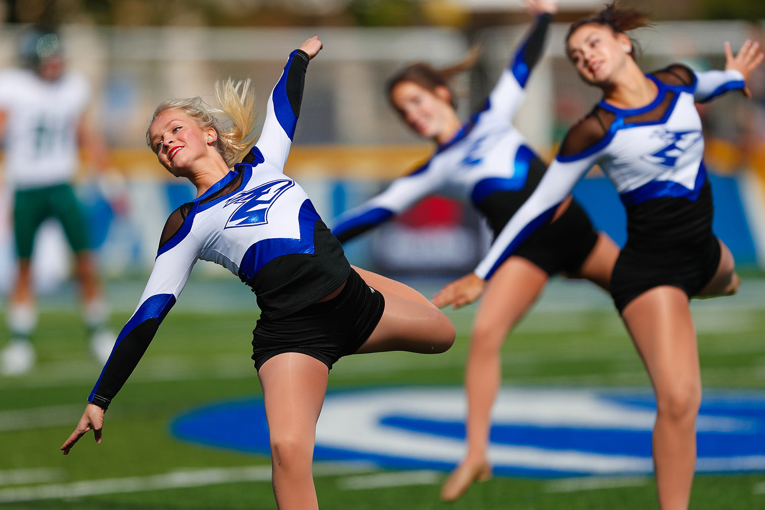 Allison Bauer was a member of the UNK Sapphires dance team for four years, serving as captain in 2018-19.