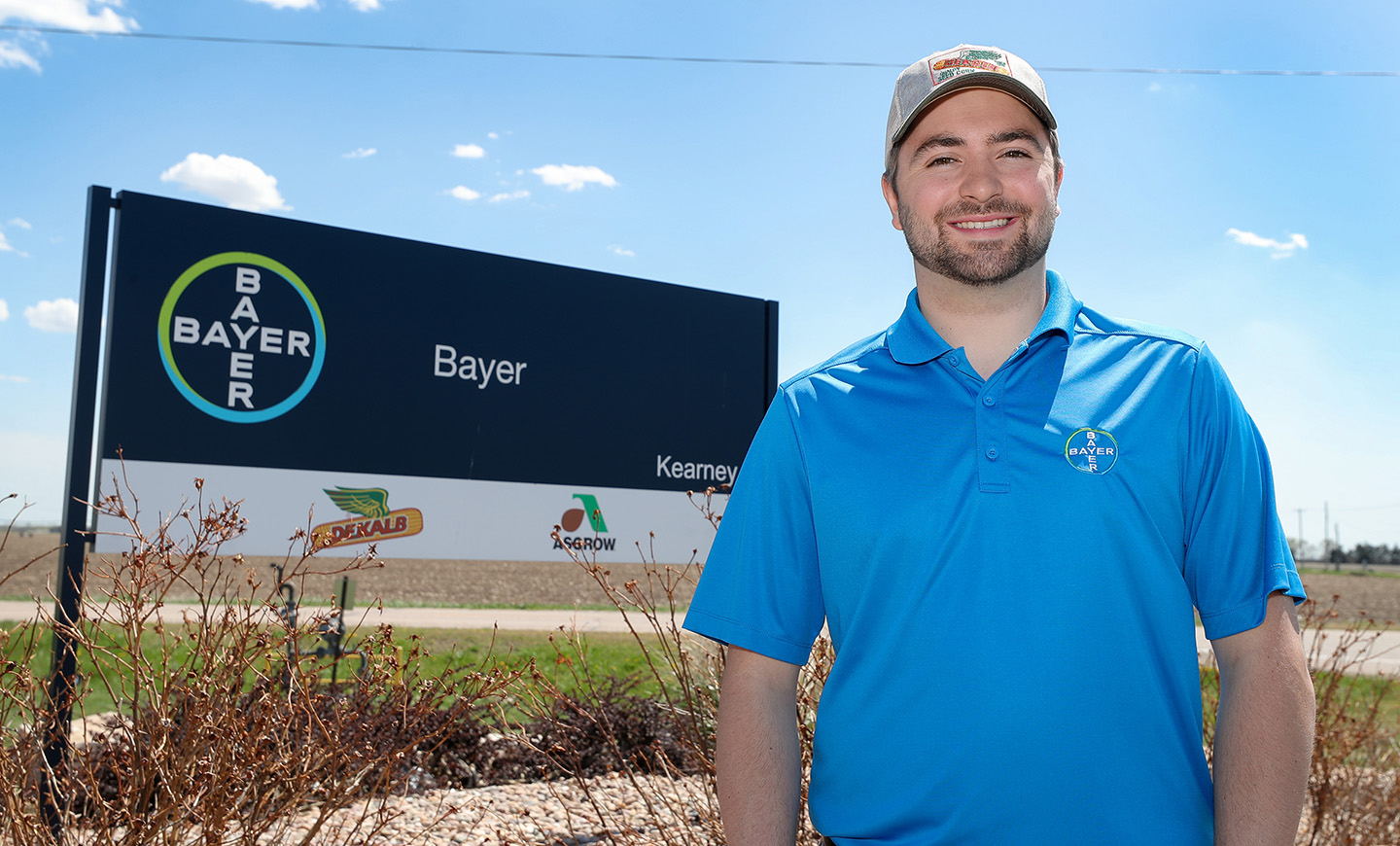 Trey Janicek graduated from UNK last week with a bachelor's degree in agribusiness. He'll move to Hawaii later this month to work as a seed production associate for Bayer Crop Science.