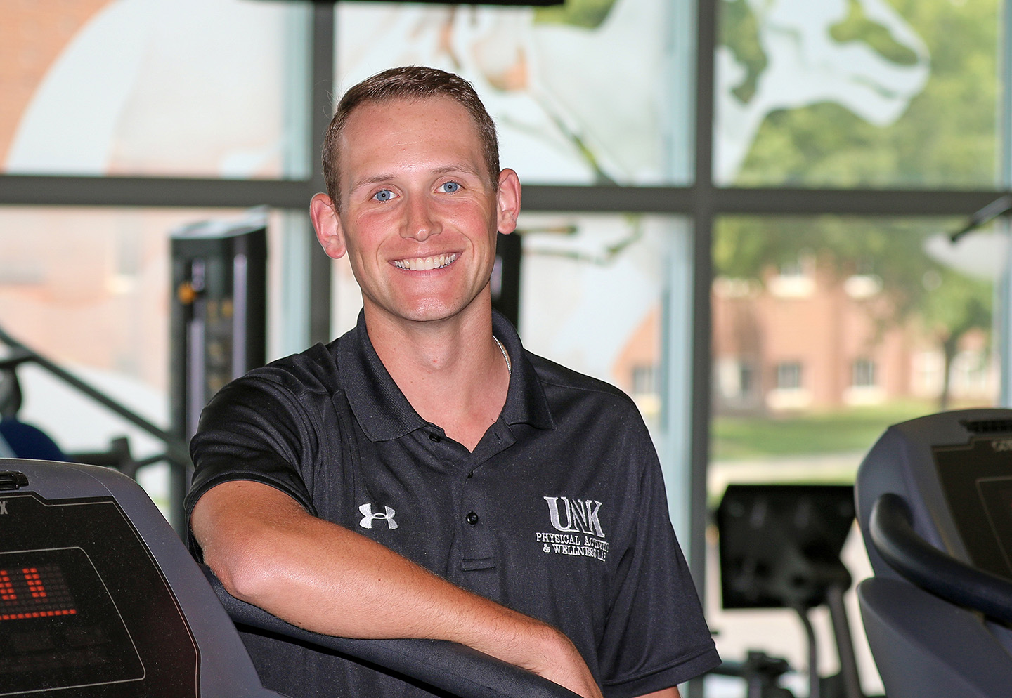John Masker graduates Friday with a master's degree in physical education and exercise science. He worked as a graduate assistant in UNK's Department of Kinesiology and Sport Sciences and the Physical Activity and Wellness Lab.