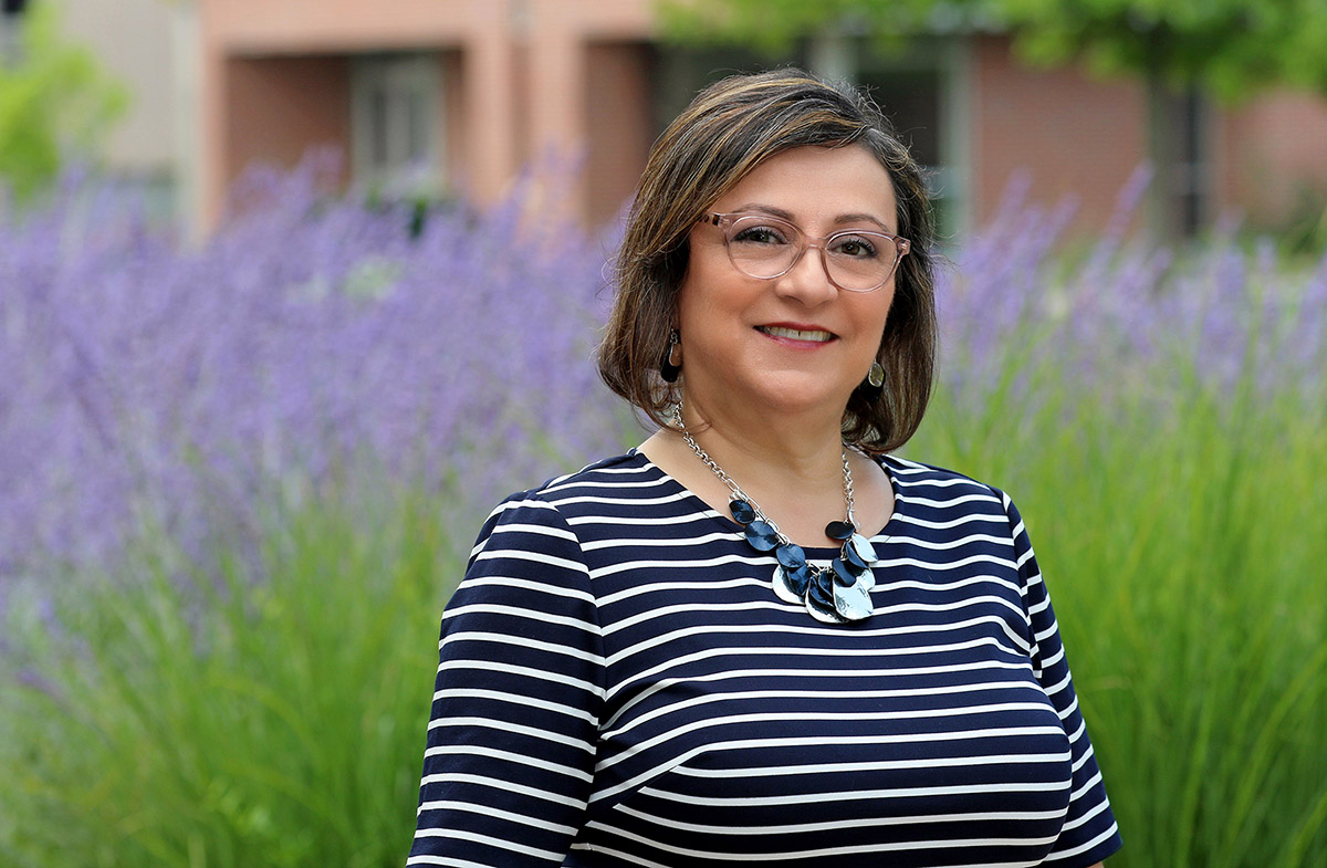 Social work professor Maha Younes is the new chief diversity officer at UNK. (Photos by Todd Gottula, UNK Communications)